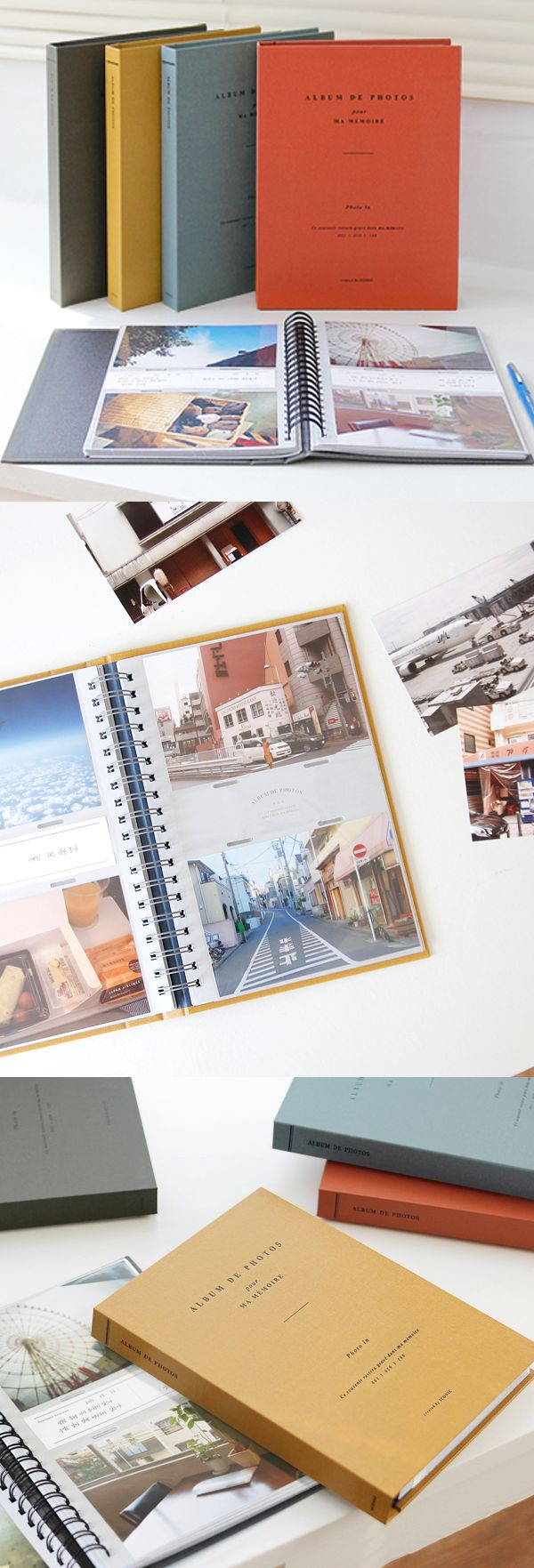 Cherish your valuable memories with the Spring 4x6 Photo Album! This well made album has a capacity of 100 4x6 photos. Plus, with the included memo paper, you can write short memos about the photos!