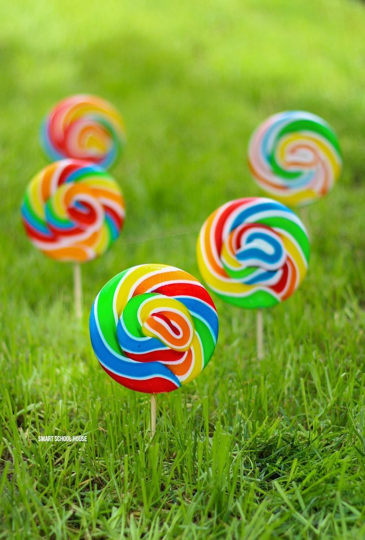 How to grow a Lollipop garden with this ONE secret trick:)