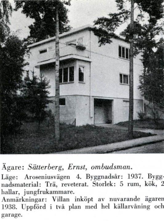 Södra Ängby - Aroseniusvägen 4