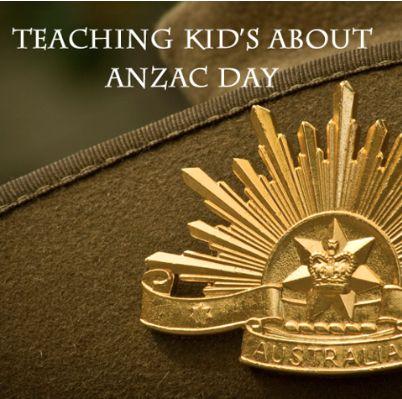 Teaching Children about ANZAC Day