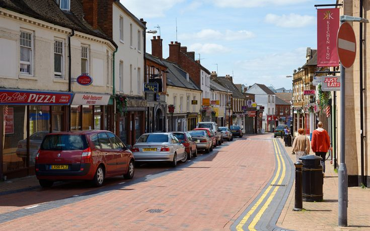 Ten cheapest towns within an hour of London - Wellingborough  Northants