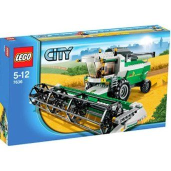 Amazon.com: Lego City Set #7636 Combine Harvester: Toys & Games