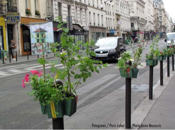 POTOGREEN BY PAULE KINGLEUR    While every city must rely on infrastructural elements to make it work, there's no need for them to remain unsightly. When considering the case of Potogreen by Paule Kingleur, efforts can be made to dress up the drab, and Paris is of course the inspiration.