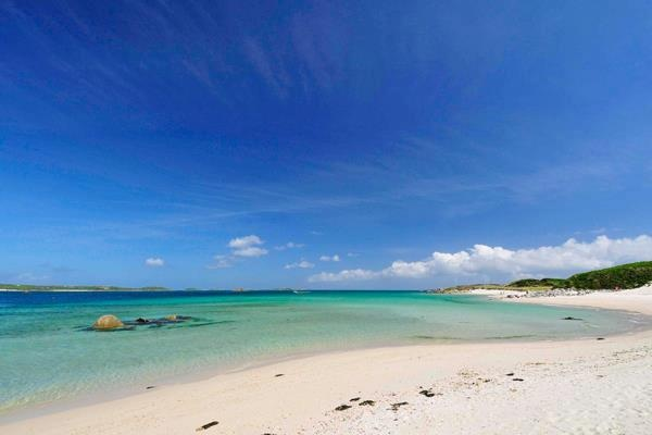Tresco, Isles of Scilly.. just off the coast of Cornwall