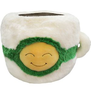 Squishable Cuppa Joe is best buddies with his cousin caramel coffee! | I must have him.