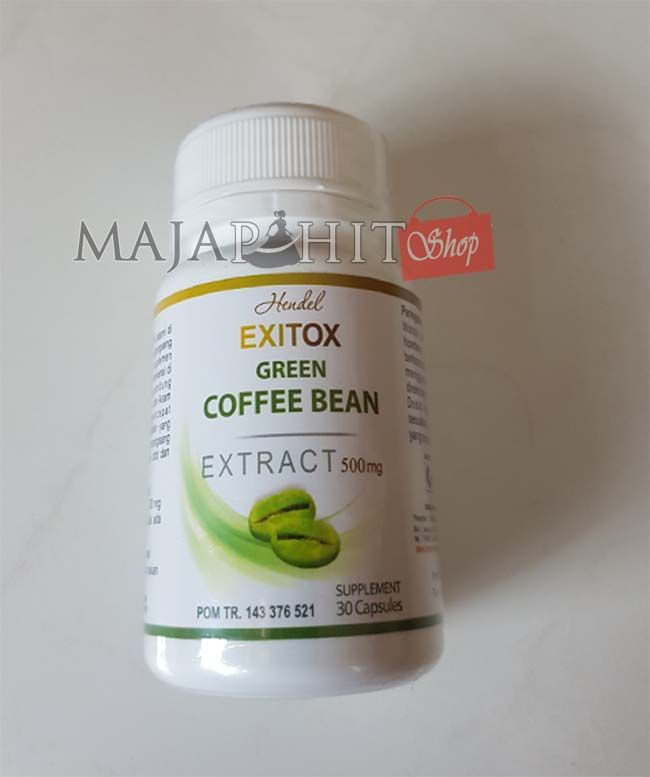 Distributor Green Coffee Exitox Kapsul Asli Harga Grosir