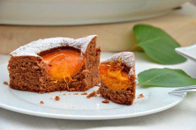 Marille-Schoko-Haselnuss-Kuchen