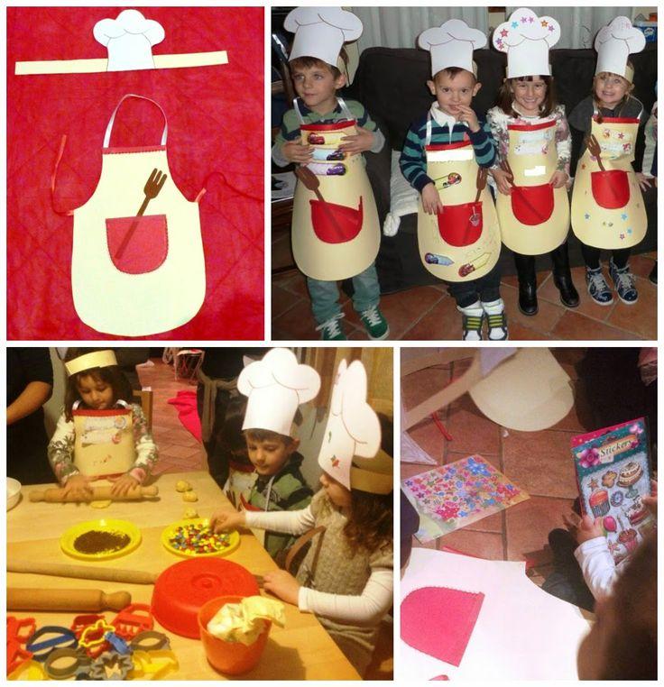 """Festa di compleanno a tema """"Masterchef Junior"""""""