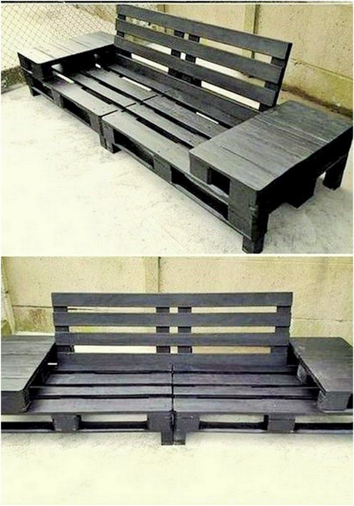 11 Awesome Diy Wood Pallet Ideas Pallet Sofa Pallet Furniture