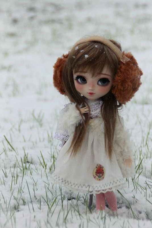 Snowyday par �� Polka Dolls Fabrics ��