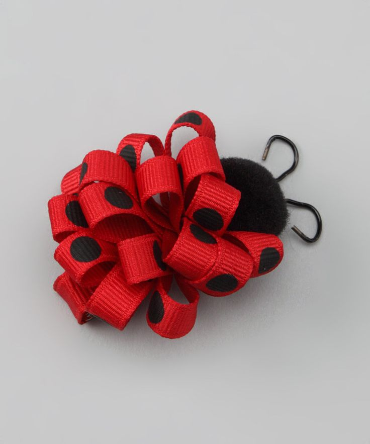 Loving this Red Ladybug Loop Clip on #zulily! #zulilyfinds