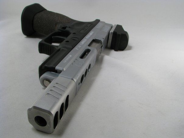 3 gun pistol - XDm .40