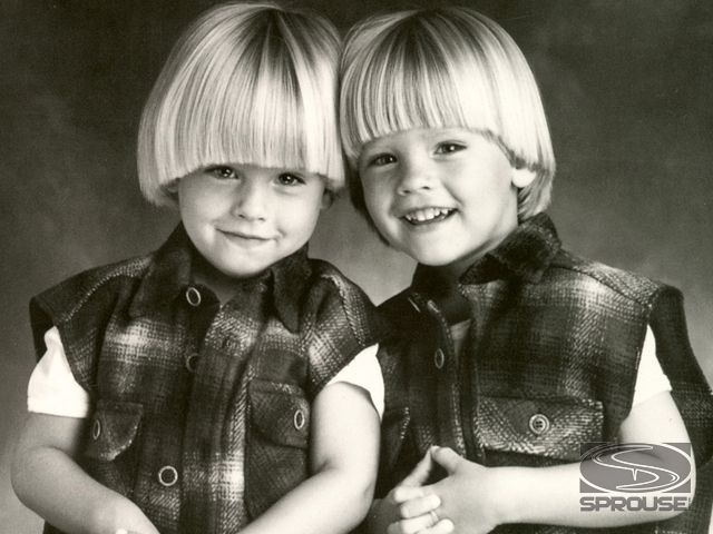 Dylan and cole sprouse age 3