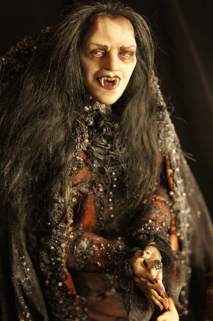 Tanz der Vampire -Krolok- The OOAK Doll for Russian Musical Comedy Theater :: Artist Natalya Filinova.