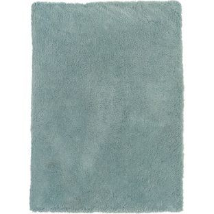 Buy Super Soft Deep Pile Shaggy Rug - 135x190cm - Duck Egg at Argos.co.uk - Your Online Shop for Limited stock Home and garden, Home furnishings, Rugs and mats.