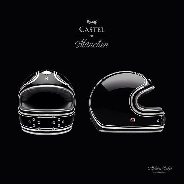"Les Ateliers Ruby Castel München Munich ""L"" helmet BRAND NEW | eBay"