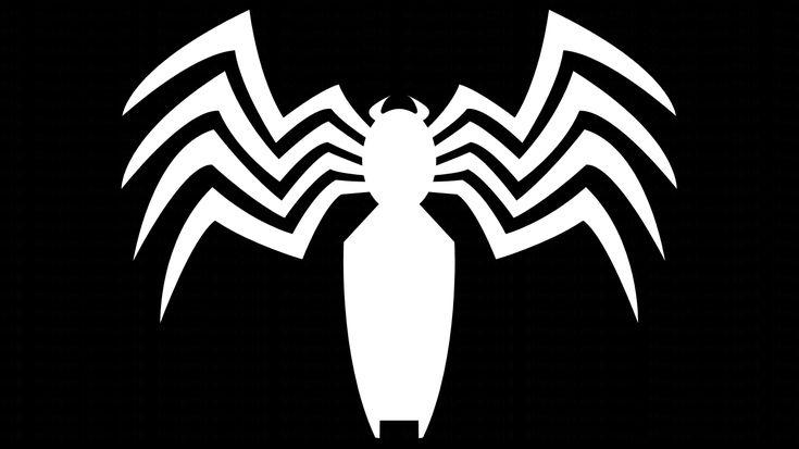 Black Spider-Man and Venom Symbol WP by MorganRLewis.deviantart.com on @deviantART