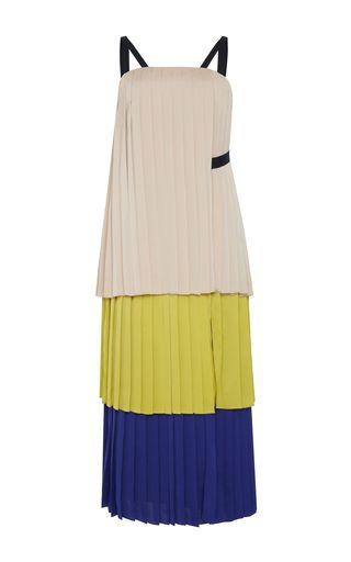 2017 Bibhu Mohapatra Pleated Dress…