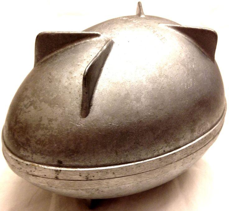 Details About Vintage Nordic Ware Aluminium Easter Egg