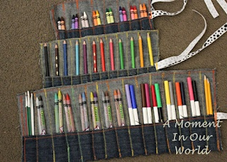 A Moment in Our World: Sewing Pencil Cases