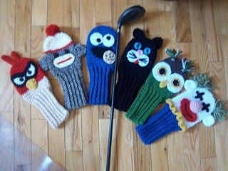 109 Best Images About Crocheted Knitted Golf Club Covers