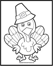 A delicious feast of preschool Thanksgiving worksheets, a cornucopia of fun!