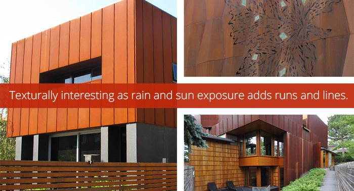Corten Weathering steel, best-known under the trademark COR-TEN steel or Xlerplate®, exhibits superior corrosion resistance over regular carbon steel as a result of the development of a protective oxide film on the surface that provides a unique rustic appearance. The layer protecting the surface develops and regenerates continuously when subjected to the influence of the …