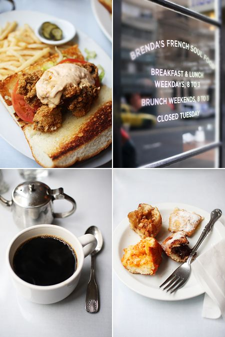 I left my stomach in San Francisco (Brenda's French Soul Food, Ritual Roasters).