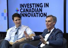 Bill Nye Challenges Justin Trudeau To Justify Kinder Morgan Pipeline Expansion