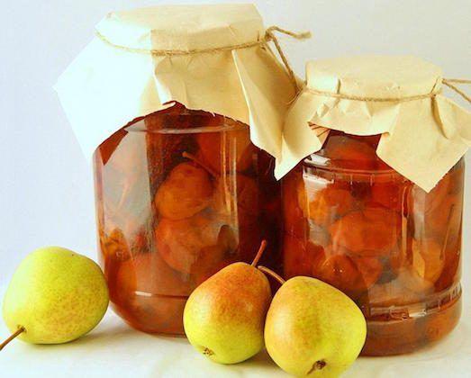 Невероятно вкусное варенья из груш с лимоном, корицей: рецепт