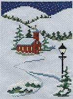 Kreinik Manufacturing Co., Inc. :: freebies :: Free Cross Stitch Patterns :: Free Cross Stitch Christmas Patterns