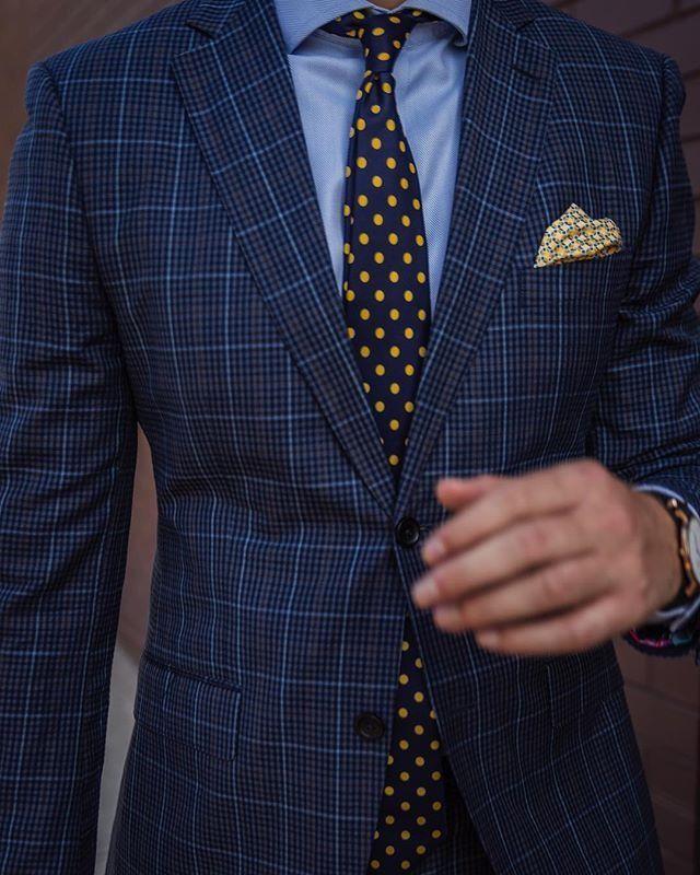 Mens Lemon Juice Classic Casual Tie Necktie