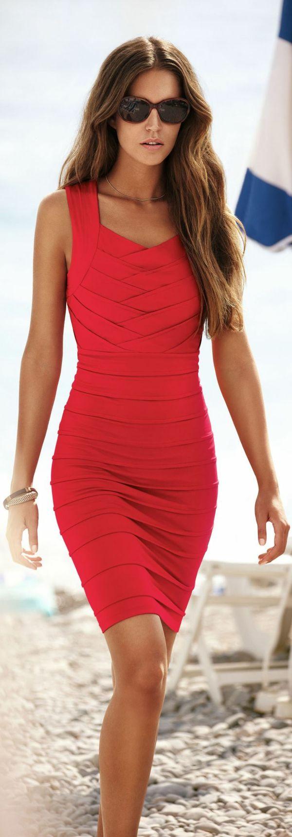 La robe de soirée rouge pour différentes occasions                                                                                                                                                     Plus