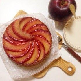 タルトタタン風りんごのアーモンドケーキ by kabura0719 [クックパッド ...