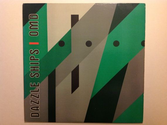 OMD  Dazzle Ships  1983 Epic Records Vinyl door TheTattooedPlatypus, $20.00
