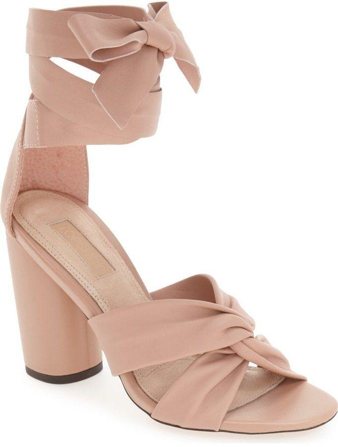Topshop 'Rosetta' Soft Knot Wraparound Sandal