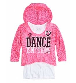 justice for girls dresses | Girls Clothes | SPORTS ANIMAL C/L TEE | Shop Justice