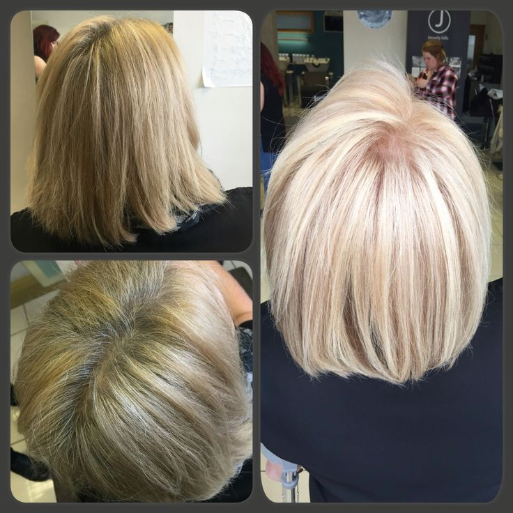 Beautiful Natural Light Blond 100% grey coverage