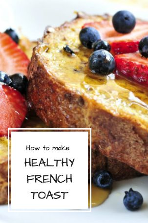 This is the perfect breakfast or brunch to spoil yourself with on the weekend. And it's a lot healthier than the versions you usually find in cafes or restaurants.