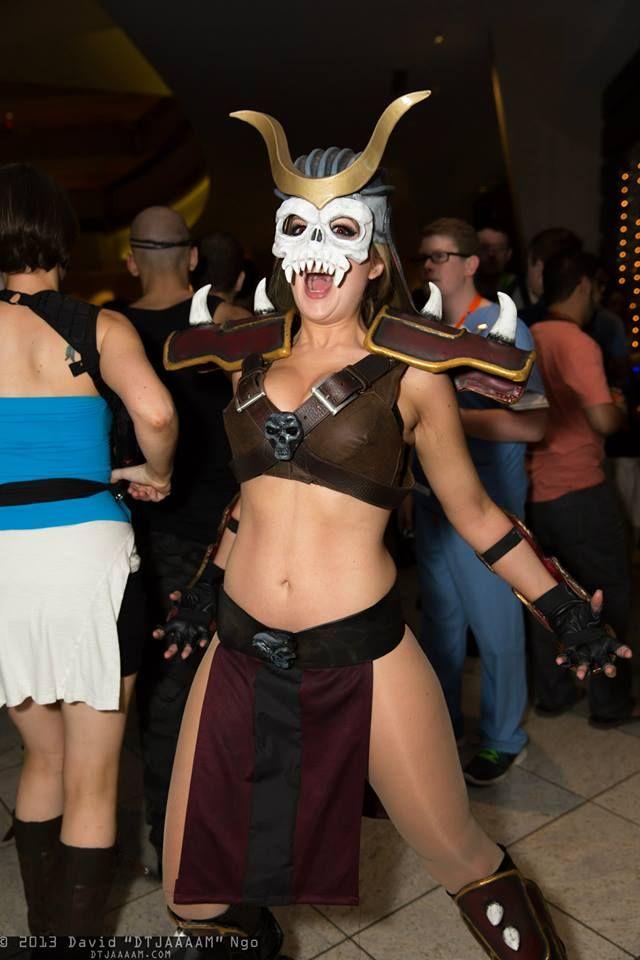 Shao Kahn Cosplay Mortal Kombat Halloween Cosplay