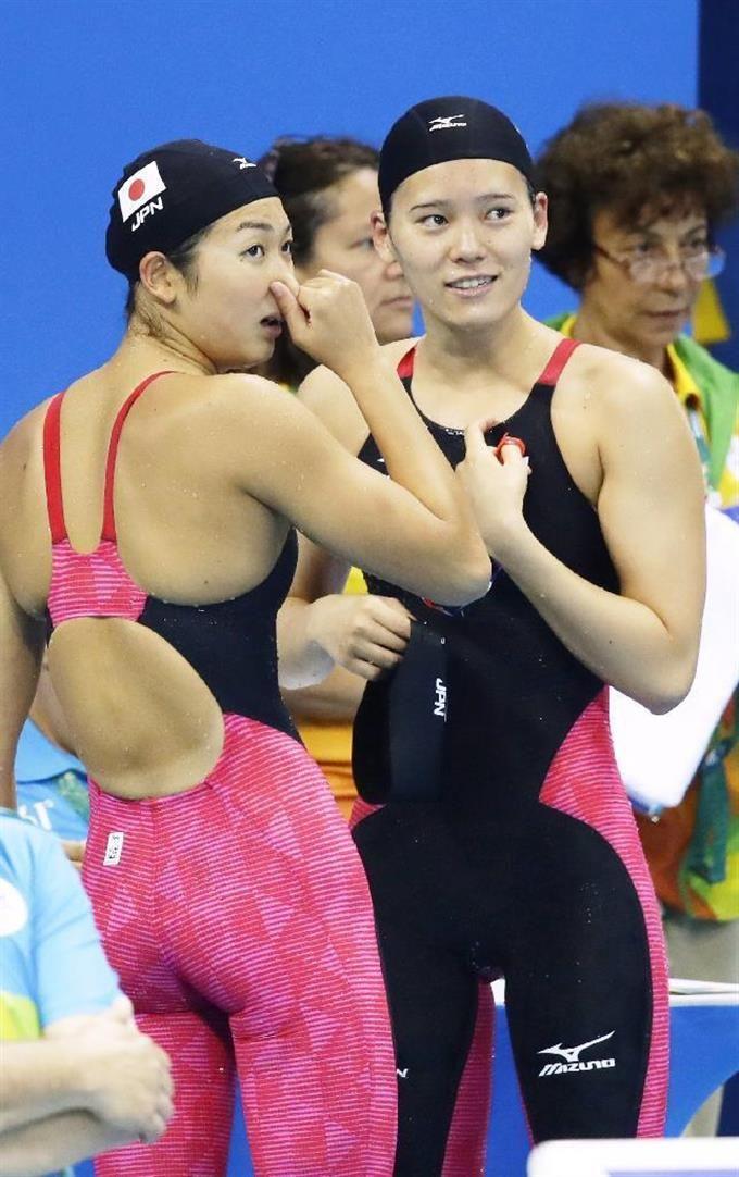 日本人同士で再戦へ 池江と内田、準決勝進出かけ 【リオ五輪競泳】 #競泳 #リオ五輪