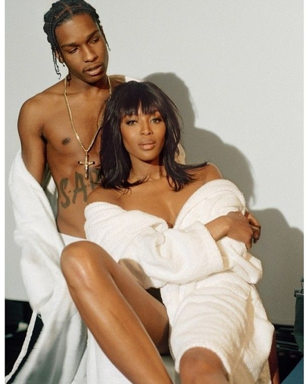 naomi & asap rocky #musicmonday #queer #fashion #style #queerfashion #gayfashion #lgbtqfashion #gay #lgbtq #lgbt #swag #stylish #beautiful #handsome #gorgeous #love #cute #photooftheday #styles #instafashion #beauty #music #streetstyle #blog #stylish #photooftheday #twitter #wordpress #pinterest