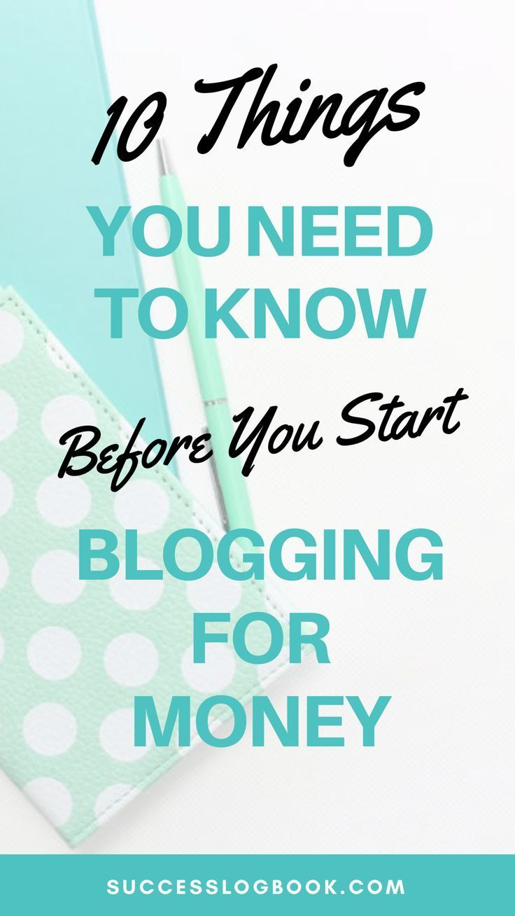 10 Things That You Need to Know Before Blogging for Money – Keshia M. White | Web Designer