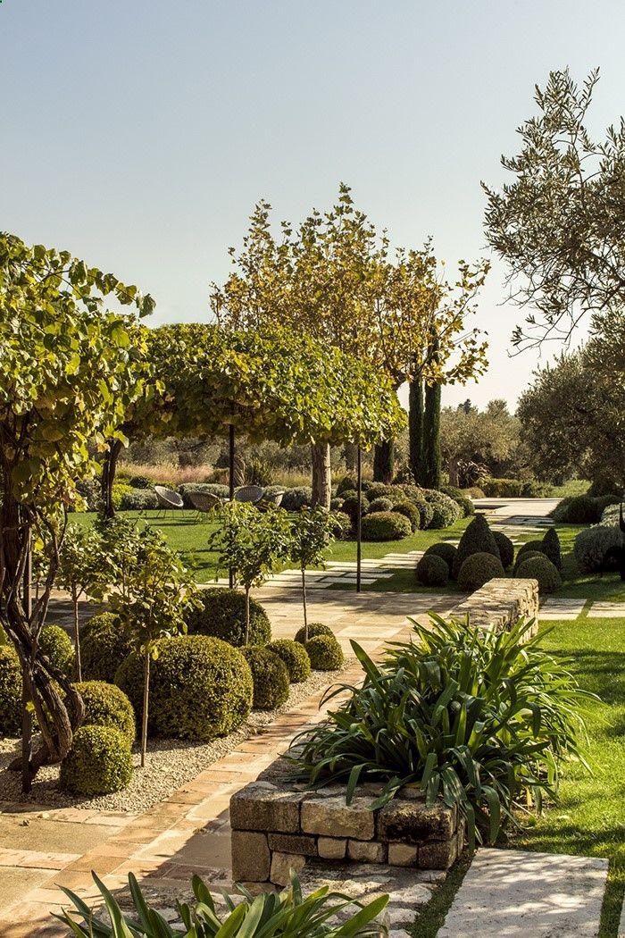 les 131 meilleures images du tableau jardins m diterran ens sur pinterest am nagement de. Black Bedroom Furniture Sets. Home Design Ideas