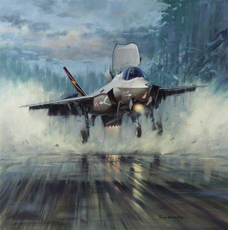 Roy Huxley aviation art. Master of the Arifix/Matchbox model box art. http://d4k7s9ho8qact.cloudfront.net/wp-content/uploads/2012/07/A-Lot-of-Hot-Air-by-Roy-Huxley-GAvA.jpg?9d7bd4