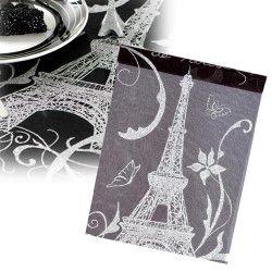 Chemin de table Paris noir, vous avez aussi ce même chemin de table en or