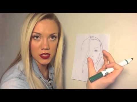 Елена Крыгина (выпуск 7) Моделирование и коррекция лица с помощью макияжа - YouTube