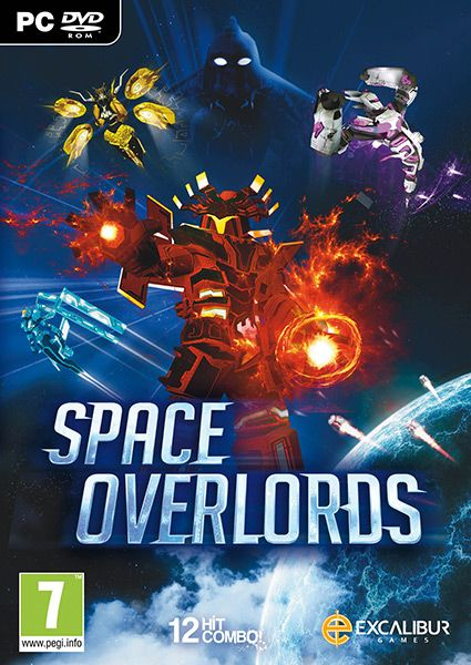 The Space Overlords are a ruthless ancient life form with immeasurable powers – the object of the game is to set out on a mission of retaliation. Publisher: Excalibur Publishing Developer: 12 Hit Combo Genre: Action Platform: PC Release Date: 26/02/2016 #videogames #action #PC #Excalibur #12_Hit_Combo