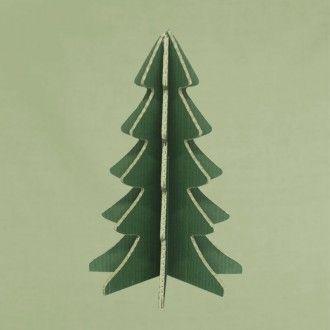 ABETO NAVIDAD CARTÓN VERDE Árbol de Navidad, diseño exclusivo de esta web, de cartón doble canal de color verde para decorar con todo tipo de pinturas, tizas de colores, collage, pan de oro, purpurina, arenas de colores, rotuladores, ceras de colores, esprays, ... #MWMaterialsWorld #ChristmasTree #ArbolNavidad