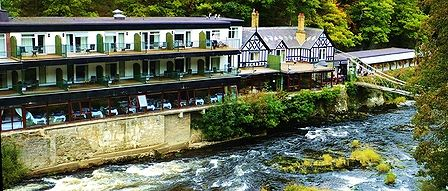 HOTEL BY THE RIVER DEE IN LLANGOLLEN